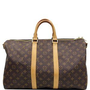LOUIS VUITTON KEEPALL45 BANDOULIERE MONOGRAM